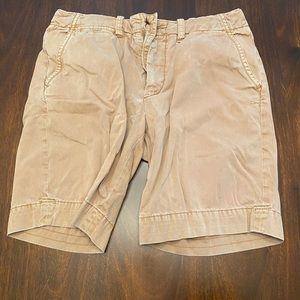 Mens polo size 35 khaki shorts